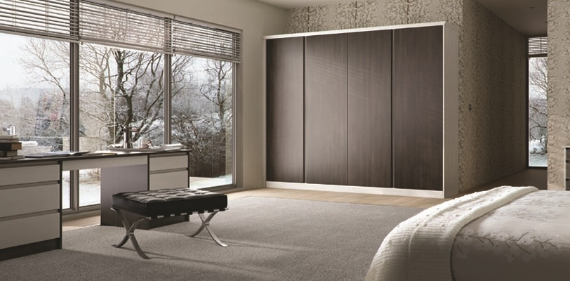 Made to measure replacement wardrobe doors and fitted bedrooms