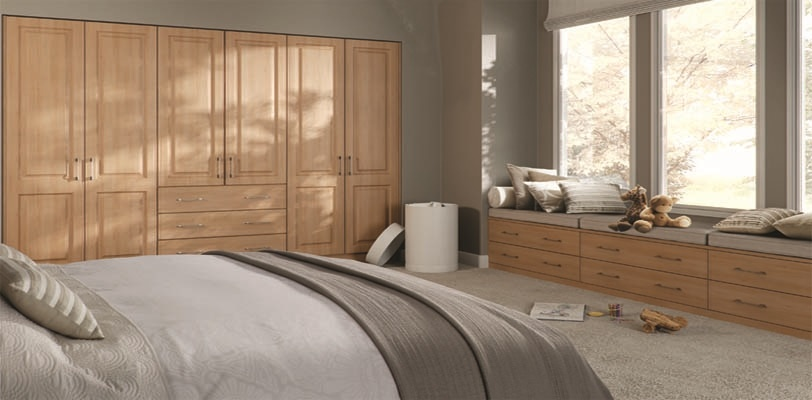 hinged wardrobe doors wooden 2