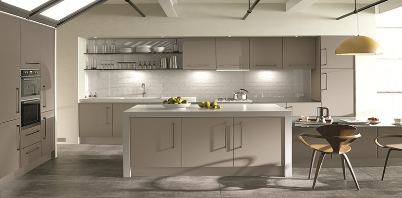 Acrylic Made To Measure High Gloss Kitchen Doors From